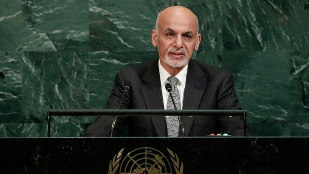 Afghan President Announces Holiday Cease-fire with Taliban