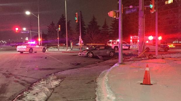 Dead, 2 Injured in Mississauga Crash