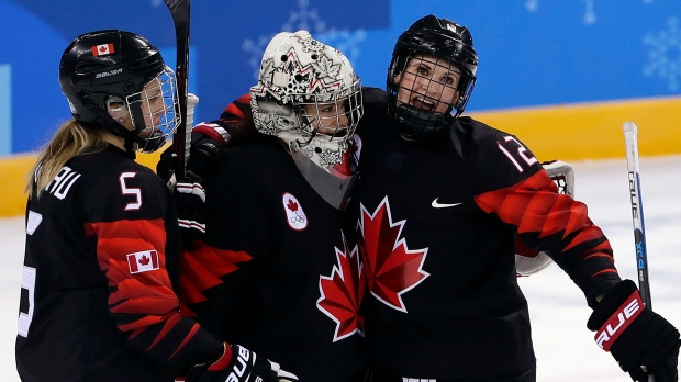 Team Canada, women, hockey