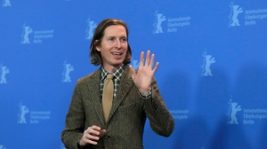 Wes Anderson attends a photo call for 'Isle of Dogs' during the 68th edition of the Berlinale Berlin Film Festival in Berlin, Germany, Thursday, Feb. 15, 2018. (AP Photo/Markus Schreiber)
