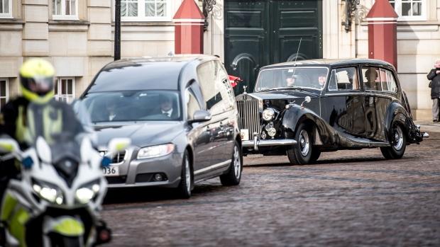 Prince Henrik procession