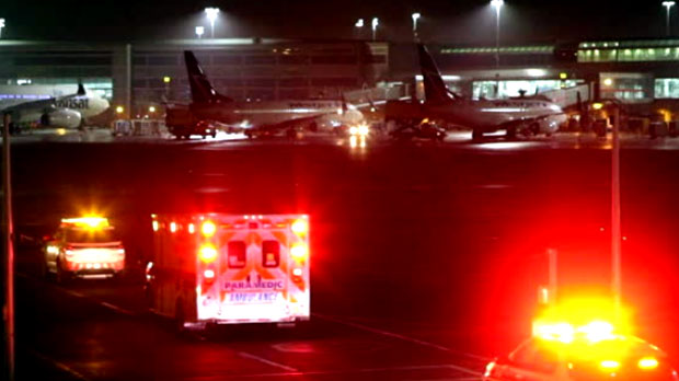 Mynderse high school students involved in mid-air scare on Air Cananda flight