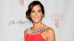"In this Oct. 17, 2011 file photo, reality TV personality Jenna Morasca attends the Gabrielle's Angel Foundation for Cancer Research Angel Ball honors gala in New York. Police say Morasca, a winner of the reality TV show ""Survivor,"" bit a police officer after being found unconscious in her parked car and revived with the opioid overdose antidote Narcan. A police report obtained by the Observer-Reporter newspaper says the 37-year-old became combative during the Jan. 25 incident near a McDonalds restaurant 30 miles south of Pittsburgh. (AP Photo/Evan Agostini, File)"
