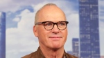 """FILE - In this June 25, 2017, file photo, actor Michael Keaton attends the """"Spider-Man: Homecoming"""" cast photo call at The Whitby Hotel in New York. Keaton is slated to give the commencement address on May 12, 2018, at Ohio's Kent State University. (Photo by Brent N. Clarke/Invision/AP, File)"""