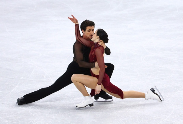 Tessa Virtue and Scott Moir of Canada win Gold in the Figure Skating Ice Dance Free Program at the Gangneung Ice Arena during the PyeongChang 2018 Olympic Winter Games in PyeongChang, South Korea on February 20, 2018. Photo by THE CANADIAN PRESS/HO-COC/Vaughn Ridley