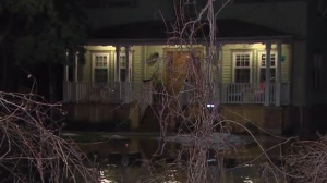 Flooding was reported at several homes along the Credit River in Mississauga after heavy rainfall.