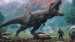 "This image released by Universal Pictures shows a scene from the upcoming ""Jurassic World: Fallen Kingdom,"" in theaters on June 22. (Universal Pictures via AP)"