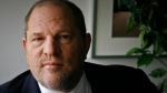 FILE - In this Nov. 23, 2011 file photo, film producer Harvey Weinstein poses for a photo in New York. Weinstein has asked a judge to toss out a federal sexual misconduct lawsuit filed against him and he's invoking the words of some A-list actresses in his defense. (AP Photo/John Carucci, File)