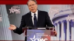 In this Thursday, Feb. 22, 2018, file photo, National Rifle Association Executive Vice President and CEO Wayne LaPierre, speaks at the Conservative Political Action Conference (CPAC), at National Harbor, Md. LaPierre said at the conference that those advocating for stricter gun control are exploiting the Florida shooting which killed over a dozen people, mostly high-school students. (AP Photo/Jacquelyn Martin, File)