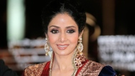 In this Dec. 1, 2012 file photo, Indian actress Sridevi arrives at the Marrakech International Film Festival in Marrakech, at the Marrakech Congress Palace. (AP Photo/Lionel Cironneau, File)