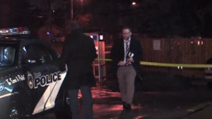 Police are investigating a stabbing near Lawrence Avenue and Bellamy Road.
