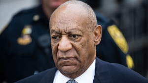 In this Aug. 22, 2017, file photo, Bill Cosby departs after a pretrial hearing in his sexual assault case at the Montgomery County Courthouse in Norristown, Pa. (AP Photo/Matt Rourke, File)