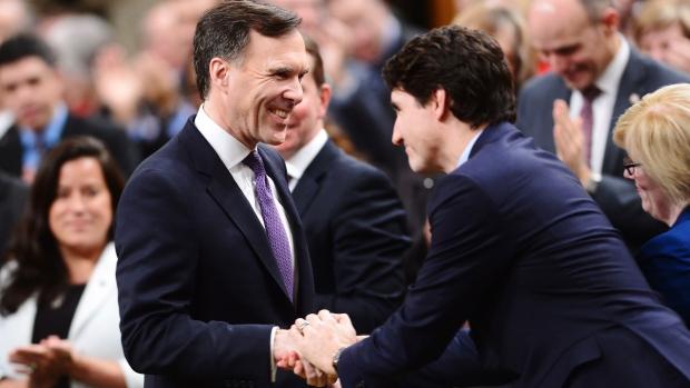 Bill Morneau and Justin Trudeau