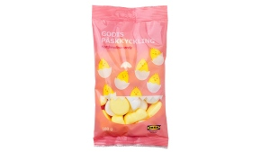 Ikea brand marshmallow candy recalled by the CFIA is pictured in this handout photo.