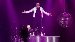 """Canadian pop-rock band Hedley says it will be taking an """"indefinite hiatus"""" after its country-wide tour at the end of March. THE CANADIAN PRESS/Darren Calabrese"""