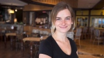 Young Canadians are far more likely to consider themselves vegetarians or vegans than the older generation, according to what's believed to be a first-of-its-kind survey in Canada. Rylee Booroff is seen at the Wooden Monkey restaurant in Dartmouth, N.S., on Tuesday, March 13, 2018. THE CANADIAN PRESS/Andrew Vaughan