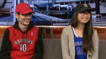 """Aleks Sanjevic and Judith Wang sat down with CP24 to discuss their inititative called """"Don't Worry We Got You"""" in support of Toronto Raptors' Demar DeRozan."""