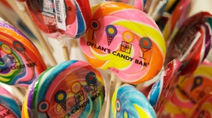 In this Oct. 27, 2011 photo, Lollipops from Dylan's Candy Bar are displayed at J.C. Penney, in New York. As consumers go, so goes the economy. Consumer spending accounts for 70 percent of economic activity, so a strong shopping season could be just the boost the economy needs. (AP Photo/Mark Lennihan)