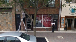 The exterior of the Smiling Buddha is seen in this image. (Google Maps)