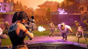 "A screengrab from the video game ""Fortnite,"" is shown in a handout. Drake's a fan, as is Toronto Maple Leafs star Auston Matthews, along with legions of other gamers.They're all hooked on ""Fortnite,"" a multiplayer video game that made headlines Thursday for a celebrity-studded match watched by hundreds of thousands of fans. THE CANADIAN PRESS/HO"