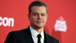 In this Oct. 22, 2017, file photo, Matt Damon arrives at a movie premier in Los Angeles. (Photo by Jordan Strauss/Invision/AP, File)