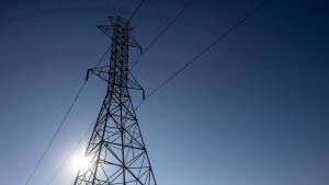 A hydro tower is seen in this file photo. THE CANADIAN PRESS/Darren Calabrese