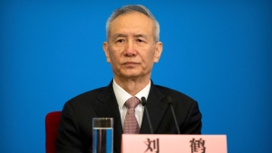 In this Tuesday, March 20, 2018, file photo, Vice Premier Liu He attends a press conference after the closing session of China's National People's Congress (NPC) at the Great Hall of the People in Beijing. (AP Photo/Mark Schiefelbein, File )