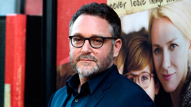 "In this June 14, 2017, file photo, Colin Trevorrow, director of ""The Book of Henry,"" poses at the premiere of the film on the opening night of the 2017 Los Angeles Film Festival in Culver City, Calif. (Photo by Chris Pizzello/Invision/AP, File)"
