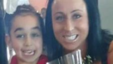 Sara Baillie and her daughter Taliyah Marsman