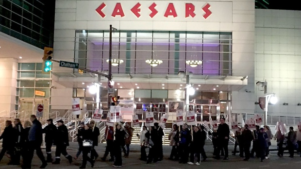 Tentative Deal Reached At Caesars Windsor