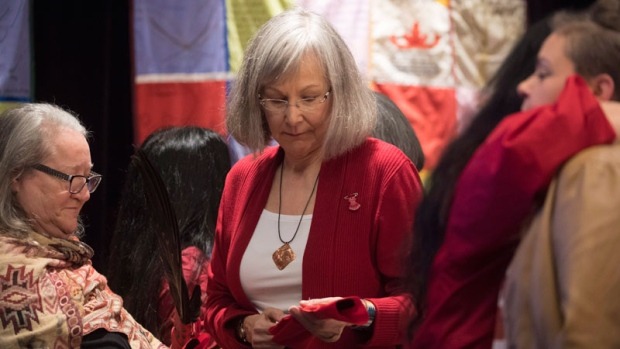 Emotional ceremony to mark release of inquiry report on Indigenous women, girls