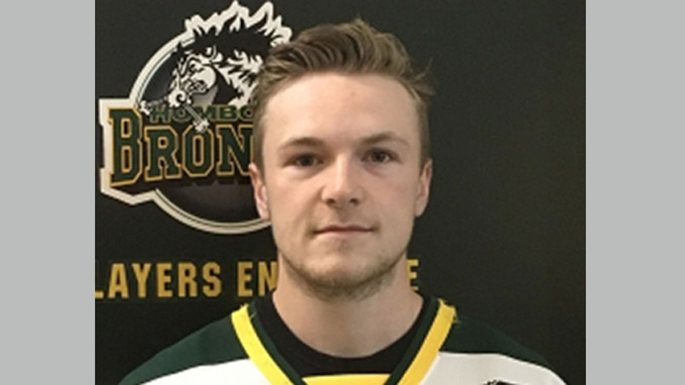 Humboldt Broncos centre Logan Schatz is shown in this undated team photo. The captain of the Humboldt Broncos hockey team is among 14 dead following a horrific bus crash in Saskatchewan. Logan Schatz died along with head coach Darcy Haugan when the junior hockey team's bus collided with a truck on the way to a playoff game in northeastern Saskatchewan Friday. THE CANADIAN PRESS/HO - Saskatchewan Junior Hockey League