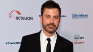 In this June 16, 2017, file photo, Jimmy Kimmel attends the 30th annual Scleroderma Foundation Benefit at the Beverly Wilshire hotel in Beverly Hills, Calif. (Photo by Chris Pizzello/Invision/AP, File)