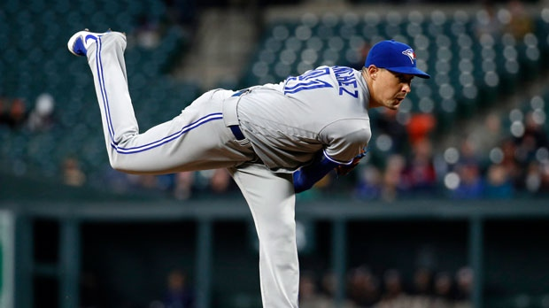 Blue Jays place Morales on DL with hamstring strain