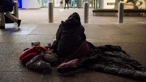 homeless Toronto