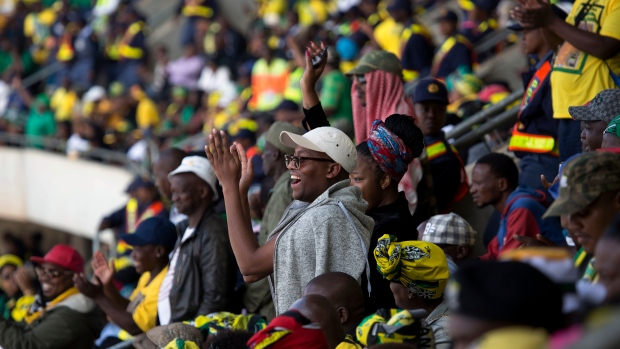 The late Winnie Mandela's burial underway in Johannesburg