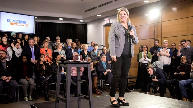 Horwath: NDP election platform