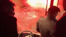 Royals bus crash