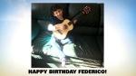 Federico Birthday Milestones