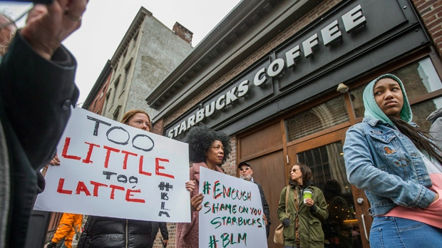 Starbucks to close 8000 stores for racial-bias training