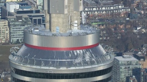 CN Tower ice