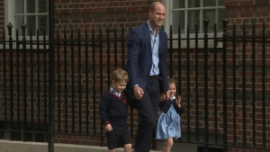 Prince William, Prince George, Princess Charlotte,