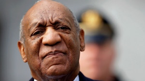 In this April 18, 2018 file photo, Bill Cosby arrives for his sexual assault trial at the Montgomery County Courthouse in Norristown, Pa. (AP Photo/Matt Slocum, File)