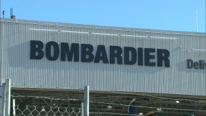 Bombardier to lay off 550 workers at its Thunder Bay, Ont. plant