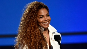 FILE - In this June 28, 2015, file photo, Janet Jackson accepts the ultimate icon: music dance visual award at the BET Awards in Los Angeles. Jackson, will be honored with the prestigious ICON Award at the 2018 Billboard Music Awards on Sunday, May 20, 2018. (Photo by Chris Pizzello/Invision/AP, File)