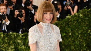 Anna Wintour attends The Metropolitan Museum of Art's Costume Institute benefit gala celebrating the opening of the Heavenly Bodies: Fashion and the Catholic Imagination exhibition on Monday, May 7, 2018, in New York. (Photo by Charles Sykes/Invision/AP)