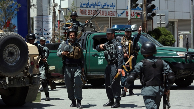 At least 2 police killed in Kabul attacks