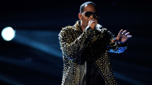 In this June 30, 2013, file photo, R. Kelly performs onstage at the BET Awards at the Nokia Theatre in Los Angeles. (Photo by Frank Micelotta/Invision/AP, File)
