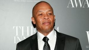 In this Nov. 5, 2014 file photo, Dr. Dre attends the WSJ. Magazine 2014 Innovator Awards at MoMA in New York. (Photo by Andy Kropa/Invision/AP, File)