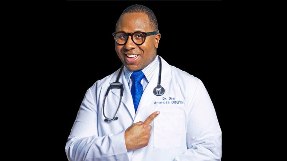 Gynecologist and media personality Dr. Drai is pictured in this image from his Twitter profile. (@DrDraiOBGYN /Twitter)